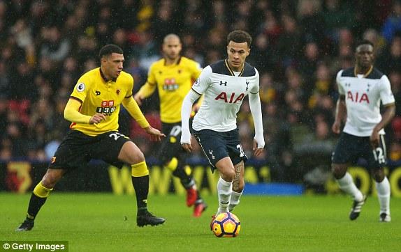 Dự đoán bóng đá Watford và Tottenham