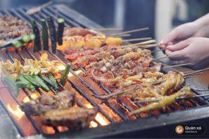 Thịt xiên nướng sapa ngon hấp hồn du khách