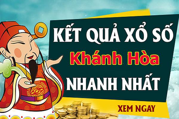 Soi cầu XS Khánh Hòa chính xác thứ 4 ngày 04/09/2019