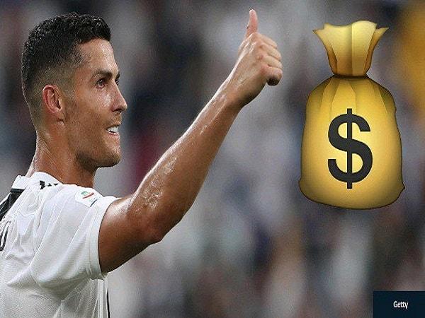 """Tiết lộ mức lương của Ronaldo """"khủng"""" cỡ nào?"""