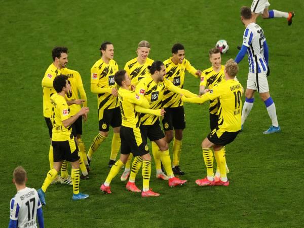 Tin Bundesliga chiều 16/3: Haaland 'tịt ngòi', Dortmund vẫn áp sát top 4
